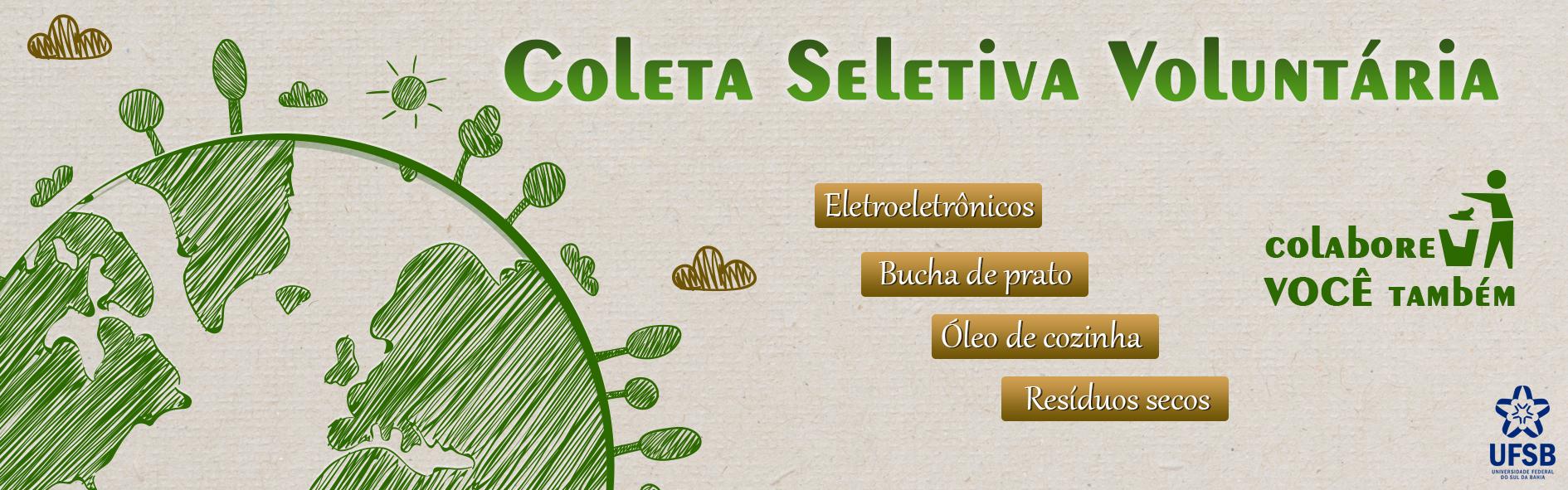 Banner Coleta Voluntária