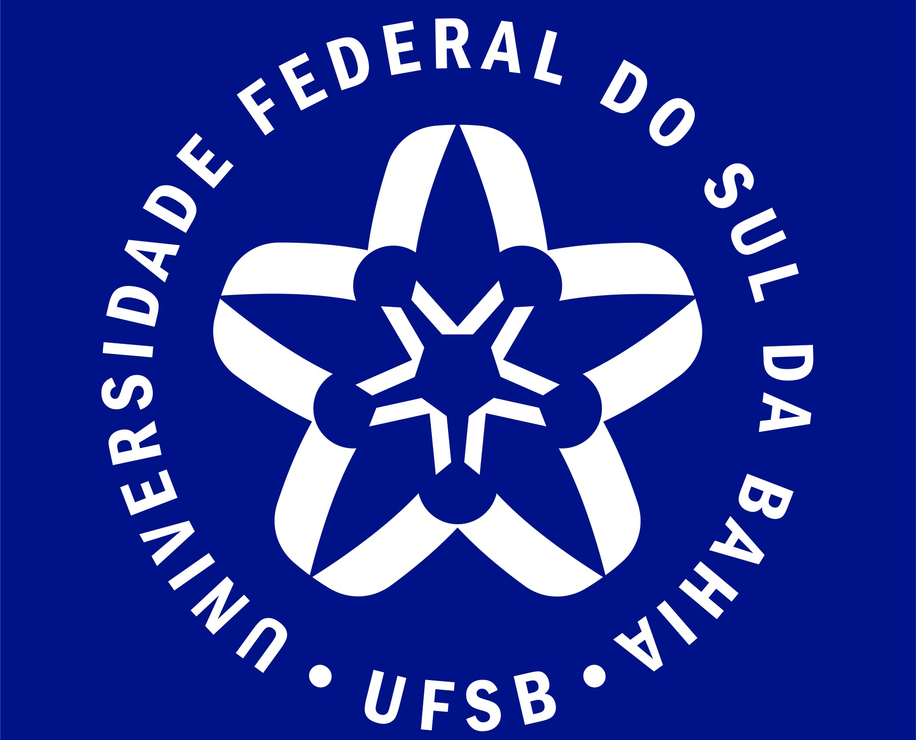 Assinatura Azul UFSB Selo RGB
