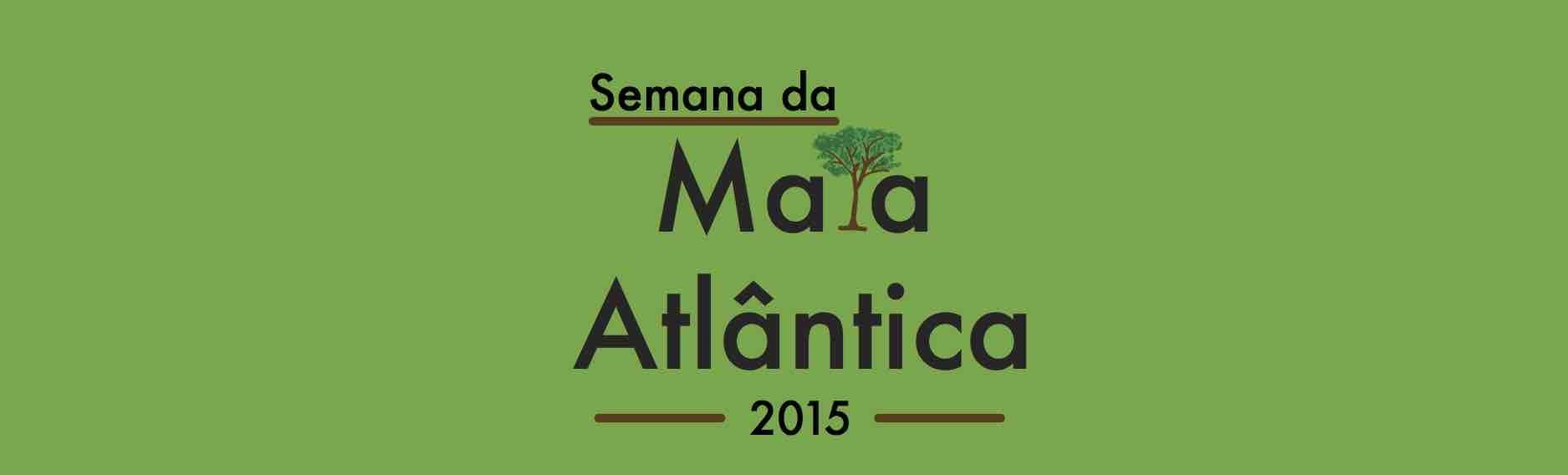 Convite Semana da Mata Atlântica 2015