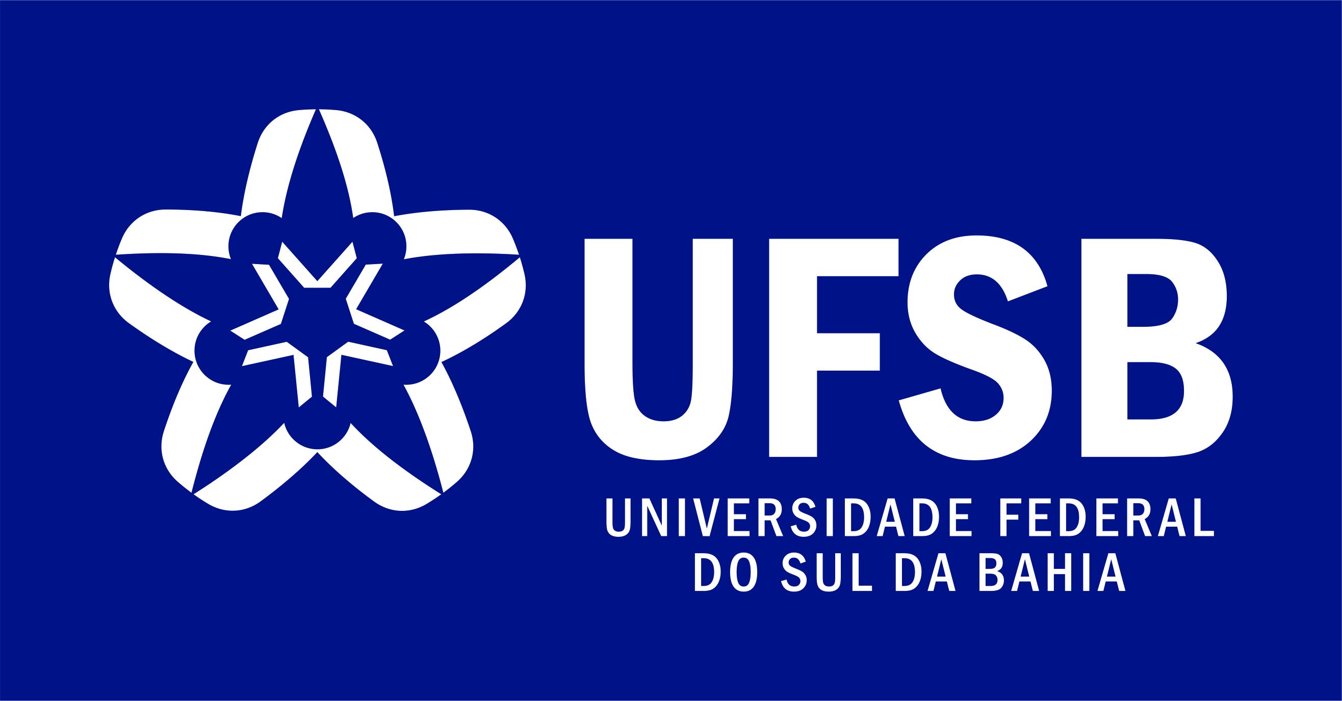 Assinatura Azul UFSB Oficial Horizontal RGB
