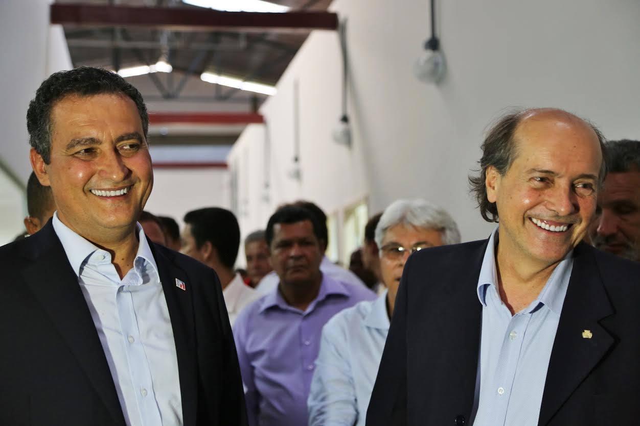 Governador e Naomar Almeida