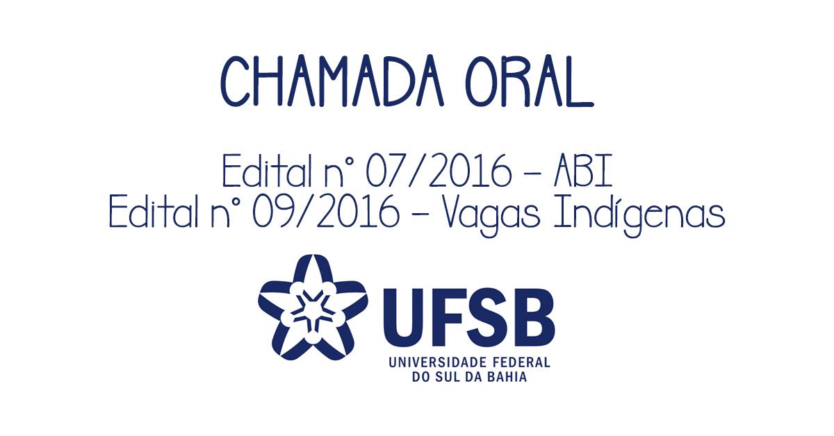 CHAMADA ORAL - ABI