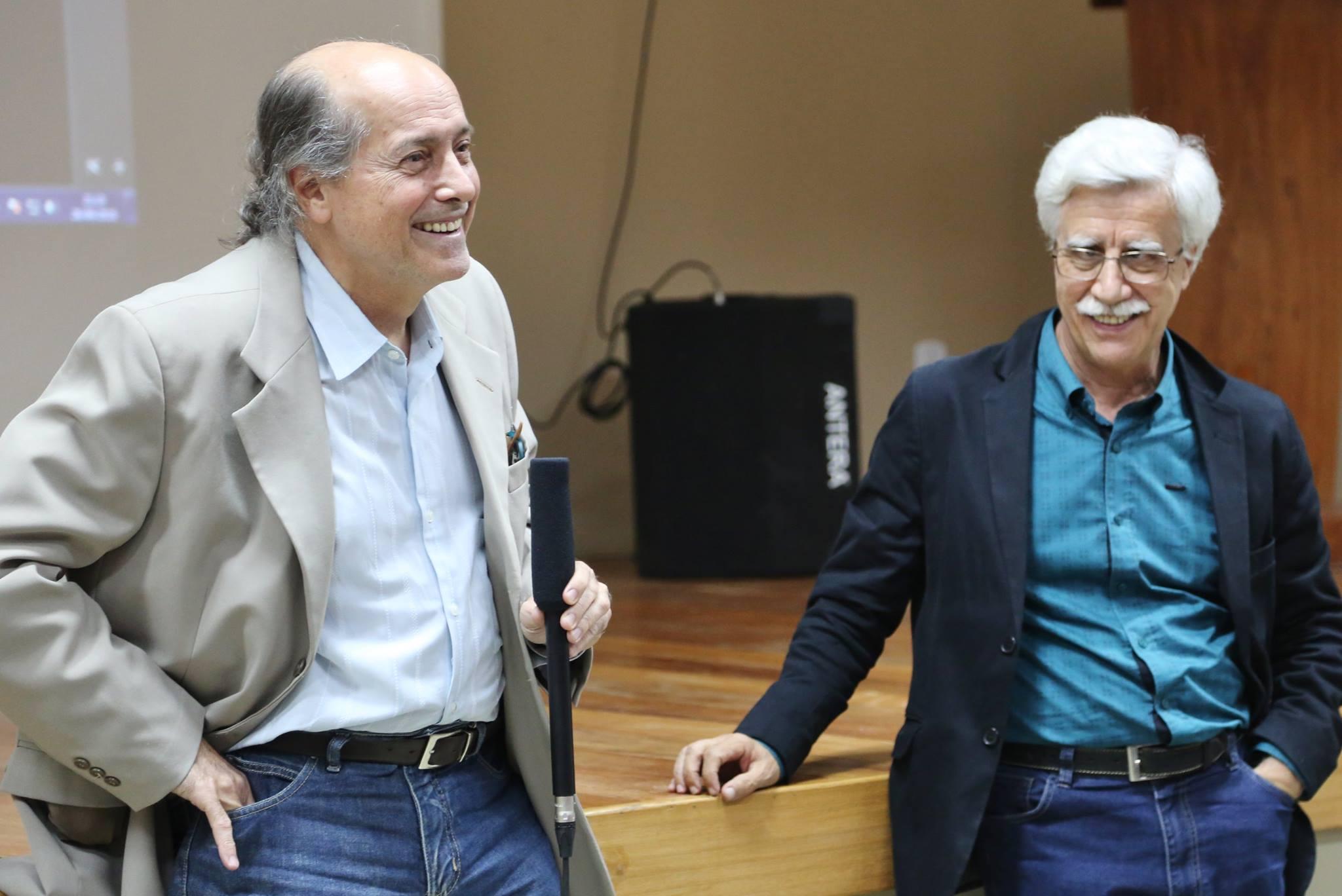 Naomar e Pacheco