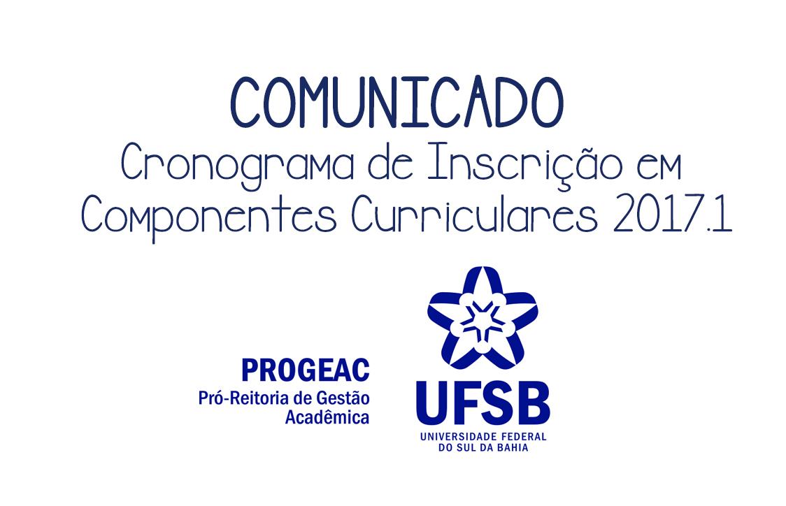 COMUNICADO PROGEAC - hoje