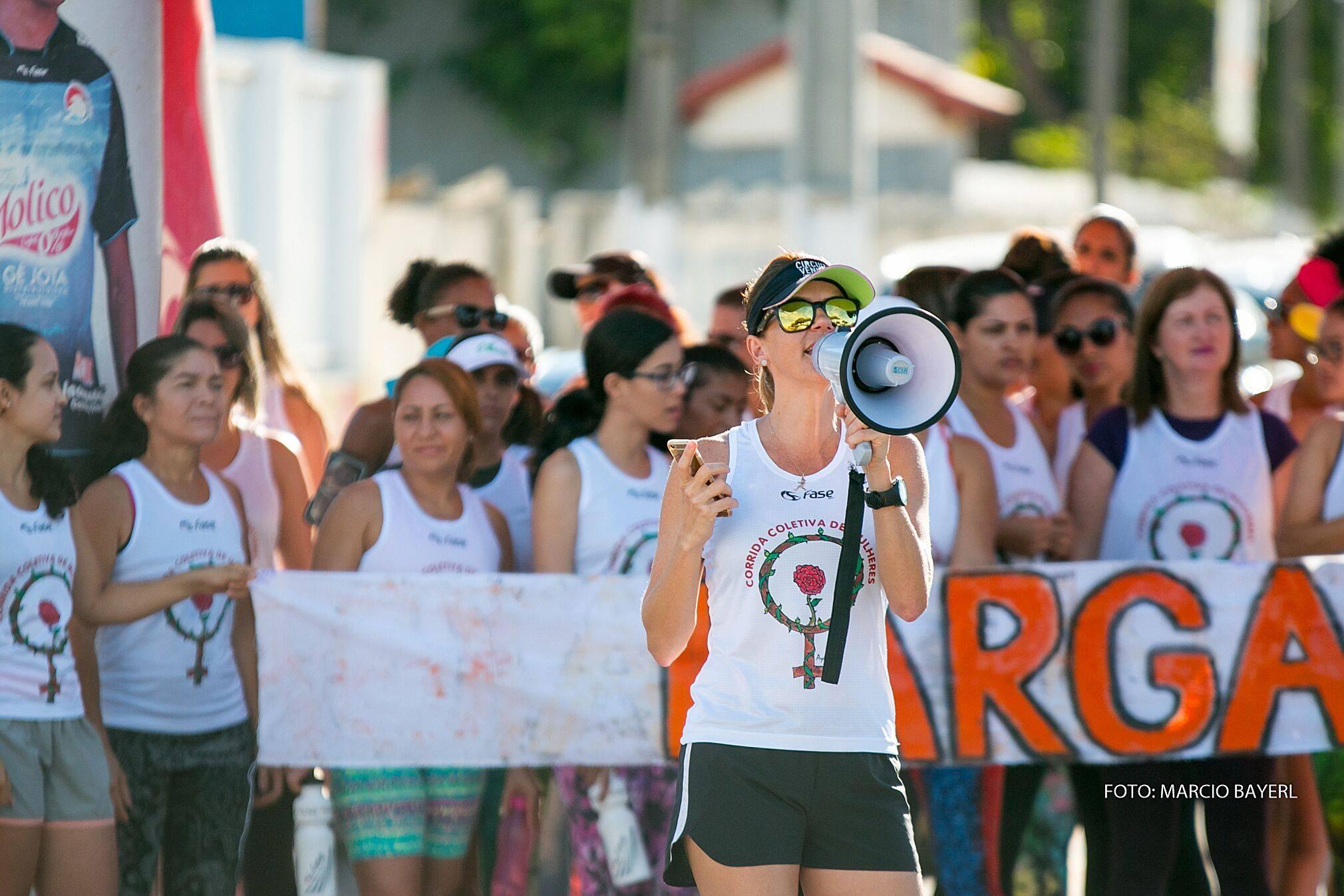Corrida Coletiva de Mulheres Teixeira de Freitas fotografia Marcio Bayerl 2