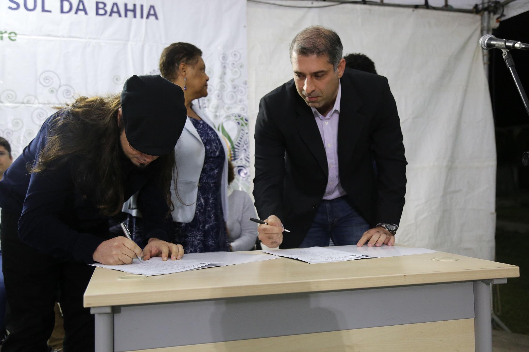 Os termos de posse foram assinados pelos novos gestores do IHAC