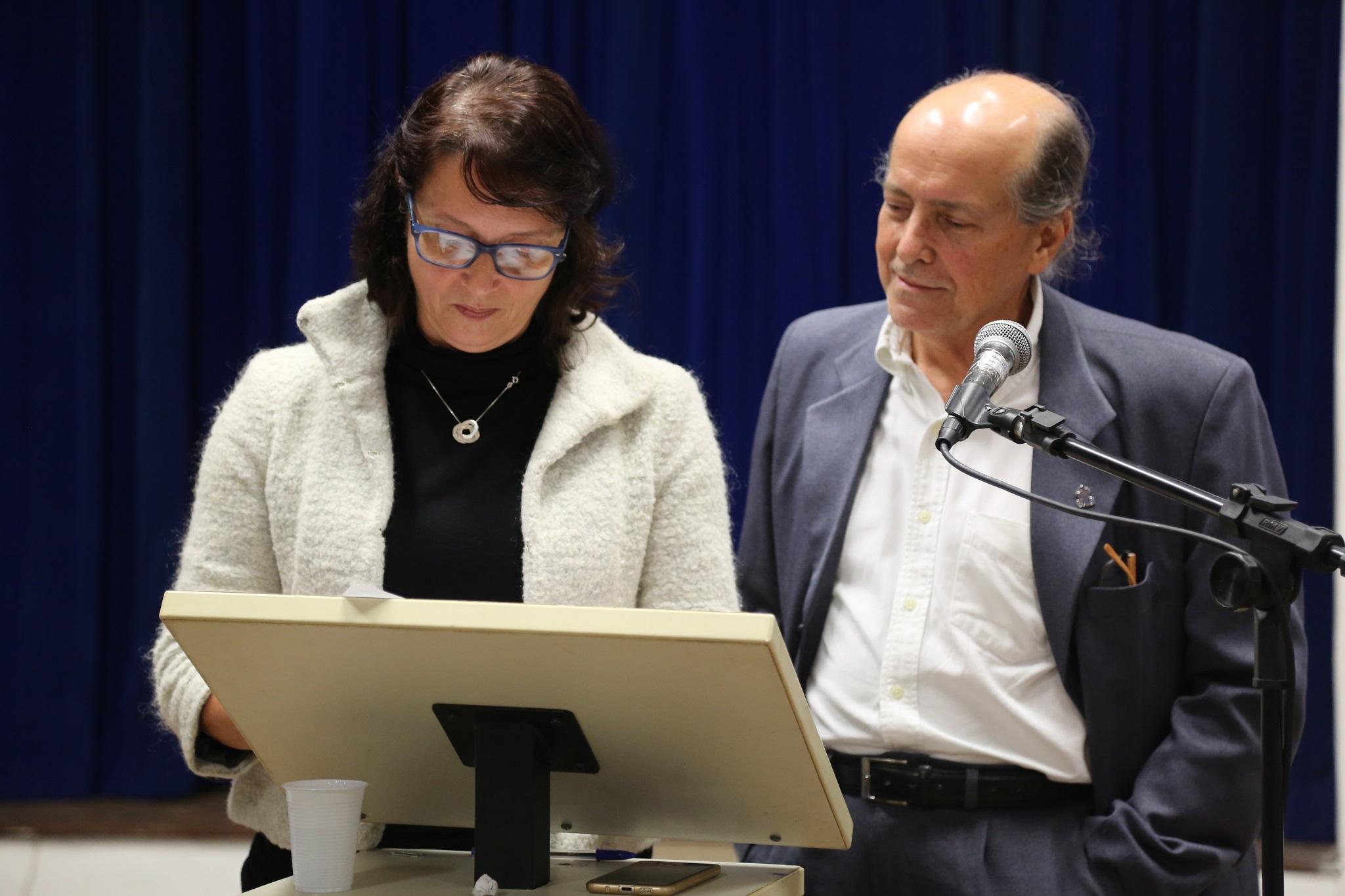 decana eleita do CFCHS, professora Christianne Rochebois