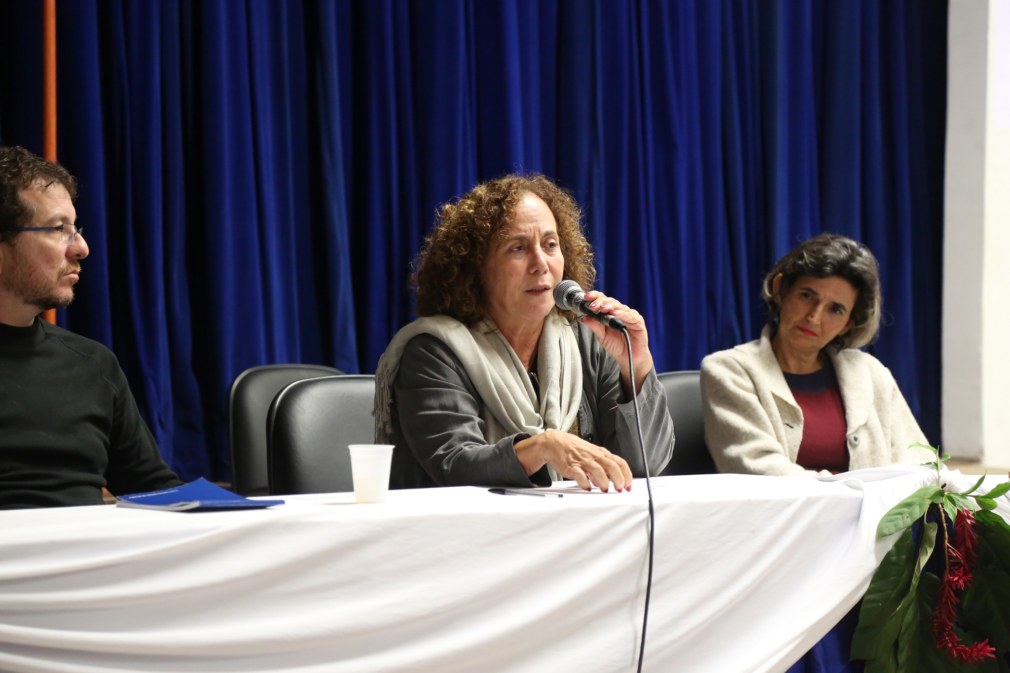 Vice-decana pro tempore do CFCHS, professora May Waddington