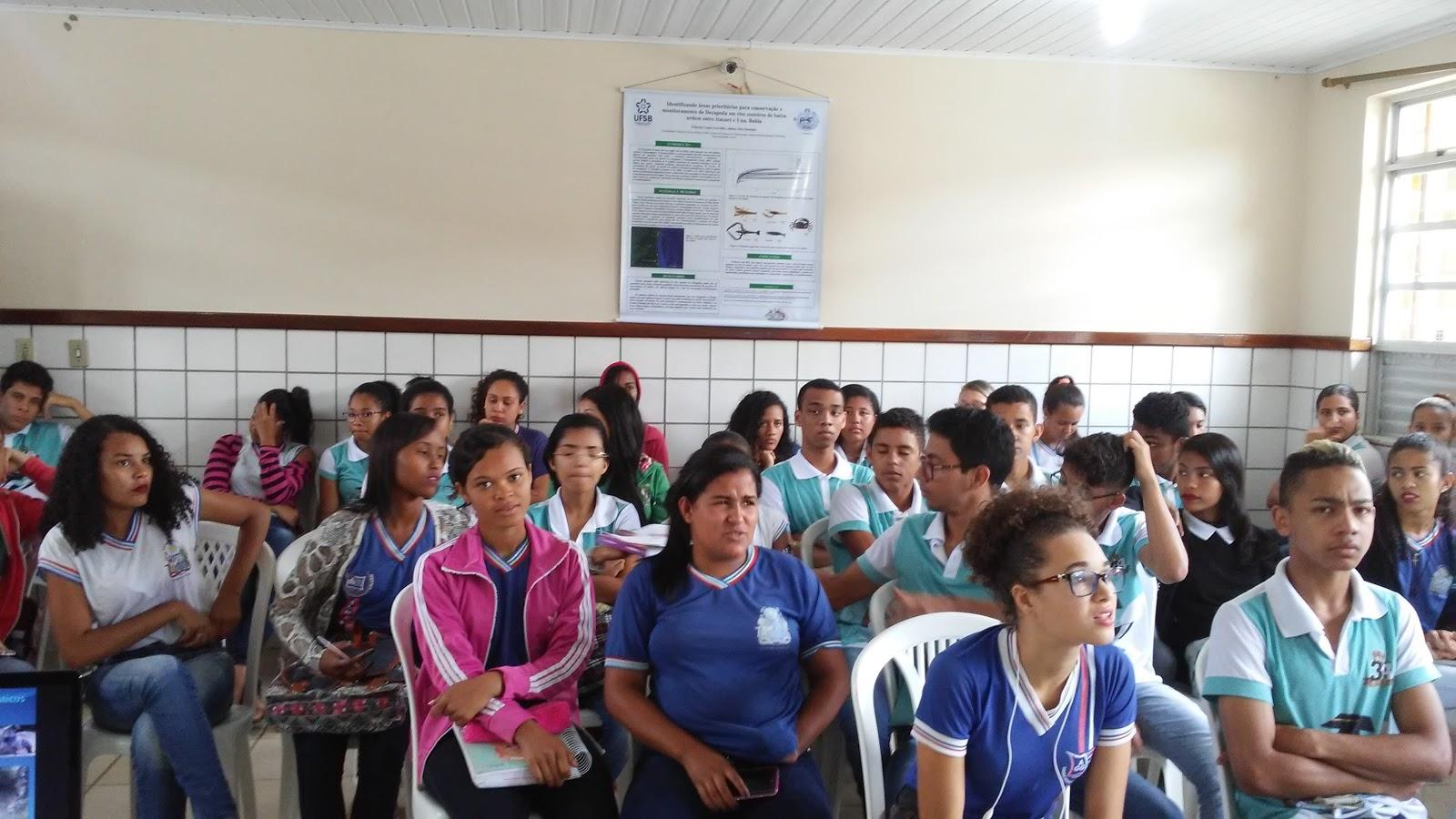 Cerca de 200 estudantes do CUNI Coaraci participaram da atividade