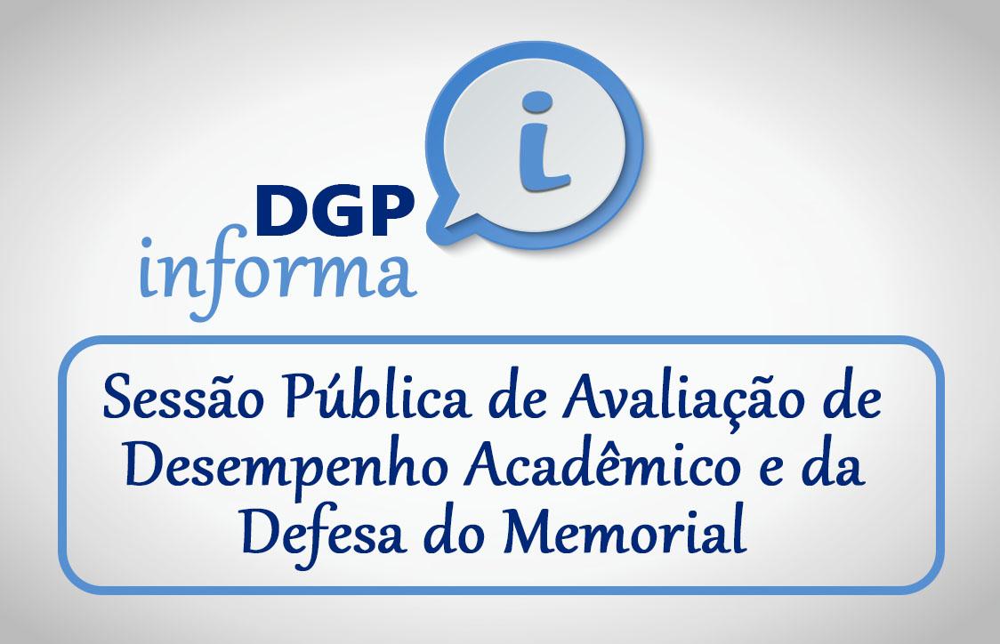 DPG - SESSÃO PÚBLICA